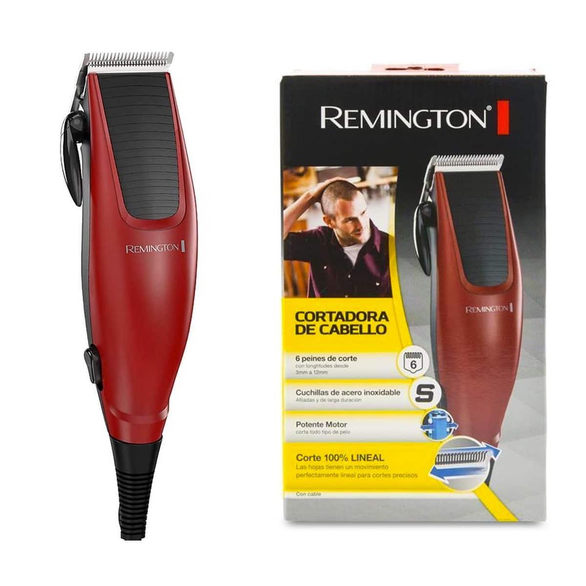 Maquina para corte de cabello remington
